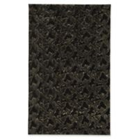 Capel Rugs Cozy 5-Foot x 8-Foot Shag Area Rug in Black