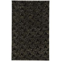 Capel Rugs Cozy 7-Foot x 9-Foot Shag Area Rug in Black