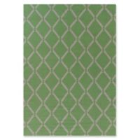 Exquisite Rugs Diamonds 5-Foot x 8-Foot Area Rug in Mint