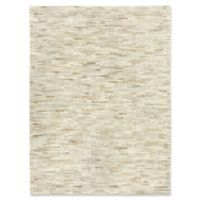 Exquisite Rugs Natural Hide Stitched 5-Foot x 8-Foot Area Rug in Beige
