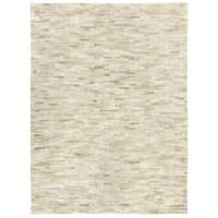 Exquisite Rugs Natural Hide Stitched 8-Foot x 11-Foot Area Rug in Beige