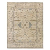 Antique Weave Oushak 8-Foot x 10-Foot Area Rug in Ivory/Multi