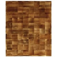 Exquisite Rugs Cowhide 8-Foot x 10-Foot Area Rug in Chocolate