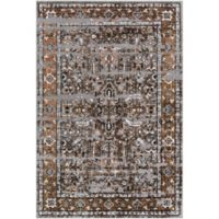 Surya Entheas 2-Foot x 3-Foot Accent Rug in Brown/Grey