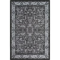 Surya Entheas 2-Foot x 3-Foot Accent Rug in Black