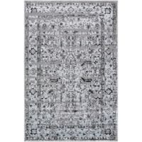 Surya Entheas 2-Foot x 3-Foot Accent Rug in Silver