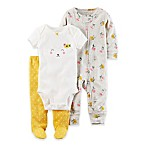 carter's® Size 3M 3-Piece Lamb Take Me Home Set