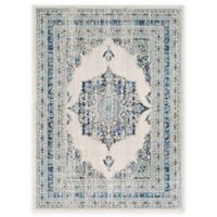 Surya Fenalun 3-Foot 11-Inch x 5-Foot 7-Inch Area Rug in Blue/Yellow