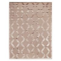 Exquisite Rugs Metro Velvet 8-Foot x 10-Foot Rug in Beige