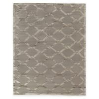 Exquisite Rugs Metro Velvet Twist 8-Foot x 10-Foot Area Rug in Grey/Brown