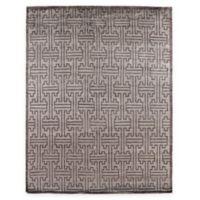Exquisite Rugs Ikat 8-Foot x 10-Foot Area Rug in Dark Grey