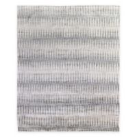 Exquisite Rugs Ikat 8-Foot x 10-Foot Area Rug in Grey