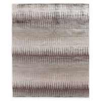 Exquisite Rugs Ikat 8-Foot x 10-Foot Area Rug in Grey/Brown