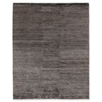 Exquisite Rugs Crush 6-Foot x 9-Foot Area Rug in Charcoal/Grey