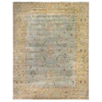 Exquisite Rugs Oushak 8-Foot x 10-Foot Rug in Grey/Dark Beige
