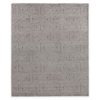 Exquisite Rugs Prague 8-Foot x 10-Foot Area Rug in Silver