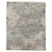 Exquisite Rugs Koda Distressed 8-Foot x 10-Foot Area Rug in Silver