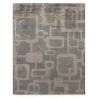Exquisite Rugs Koda Geometric 8-Foot x 10-Foot Area Rug in Grey/Taupe