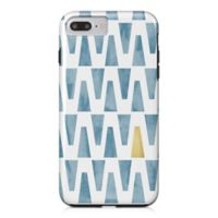 Designs Direct Watercolor Triangles Tough Case for iPhone 7 Plus in Blue