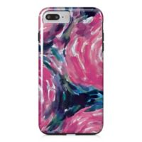 Designs Direct Painterly Flowers Tough Case for iPhone 7 Plus in Pink