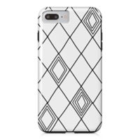 Designs Direct Diamond Sketch Tough Case for iPhone 7 Plus in Black