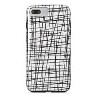 Designs Direct Drizzle Tough Case for iPhone 7 Plus in Charcoal