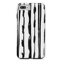 Designs Direct Sketched Lines Tough Case for iPhone 7 Plus in Black