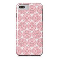 Designs Direct Moroccan Circles Tough Case for iPhone 7 Plus in Coral Pink