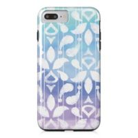 Designs Direct Watercolor Ikat Tough Case for iPhone 7 Plus in Blue