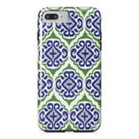 Designs Direct Moroccan Tile Tough Case for iPhone 7 Plus in Blue