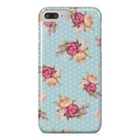 Designs Direct Floral Dot Pattern Barely There Case for iPhone 7 Plus in Blue