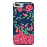 Designs Direct Rose Garden Barely There Case for iPhone 7 Plus in Pink/Navy