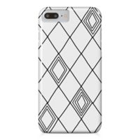 Designs Direct Diamond Sketch Barely There Case for iPhone 7 Plus in Black