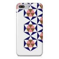 Designs Direct Geometric Stars Barely There Case for iPhone 7 Plus in Blue