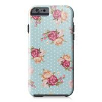 Designs Direct Floral Dot Pattern Tough Case for iPhone 6/6S in Blue