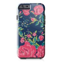 Designs Direct Rose Garden Tough Case for iPhone 6/6S in Navy/Pink