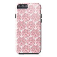 Designs Direct Moroccan Circles Tough Case for iPhone 6/6S in Coral Pink