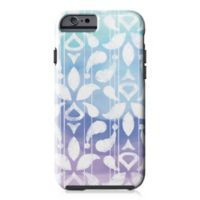 Designs Direct Watercolor Ikat Tough Case for iPhone 6/6S in Blue