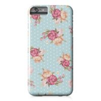 Designs Direct Floral Dot Pattern Barely There Case for iPhone 6 Plus in Blue