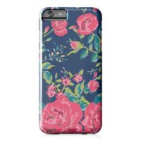 Designs Direct Rose Garden Barely There Case for iPhone 6 Plus in Pink/Navy