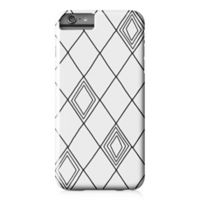 Designs Direct Diamond Sketch Barely There Case for iPhone 6 Plus in Black