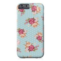 Designs Direct Floral Dot Barely There Case for iPhone 6/6S in Blue