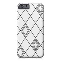 Designs Direct Diamond Sketch Barely There Case for iPhone 6/6S in Black