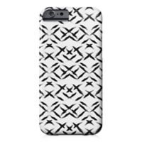 Designs Direct Paint Swipes Barely There Case for iPhone 6/6S in Black