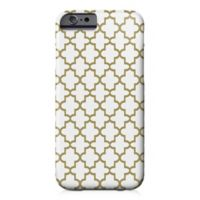 Designs Direct Quatrefoil Barely There Case for iPhone 6/6S in Gold