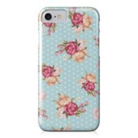 Designs Direct Floral Dot Pattern Barely There Case for iPhone 7 in Blue