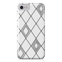 Designs Direct Diamond Sketch Barely There Case for iPhone 7 in Black