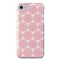 Designs Direct Moroccan Circles Barely There Case for iPhone 7 in Coral Pink