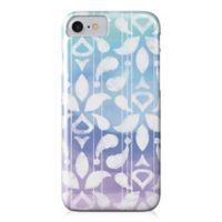 Designs Direct Watercolor Ikat Barely There Case for iPhone 7 in Blue