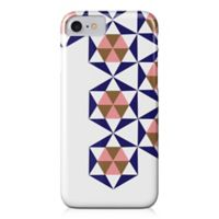 Designs Direct Geometric Stars Barely There Case for iPhone 7 in Blue